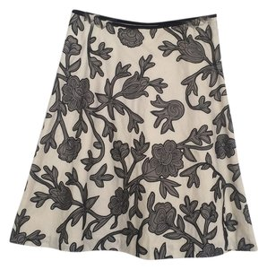 White House | Black Market Skirt Black, white, gray