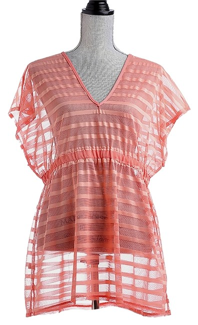 Preload https://img-static.tradesy.com/item/14140636/coral-coverup-beach-pool-dress-tunic-size-os-one-size-0-1-650-650.jpg