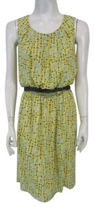 Chelsea & Violet short dress Yellow Belted Hi Lo Sleeveless Geometric on Tradesy