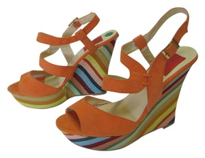 FRH Size 8.00 M Orange, Blue, Red, Neutral Platforms