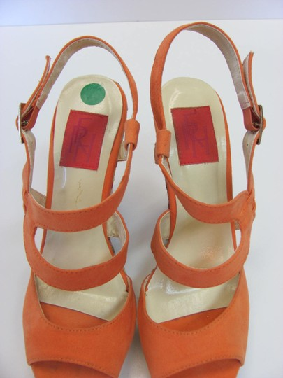 FRH Size 8.00 M Excellent Condition Orange, Blue, Red, Neutral Platforms