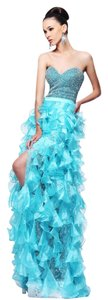 Sherri Hill Strapless Dress