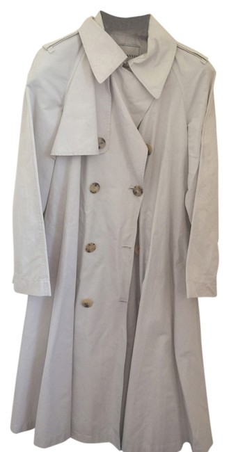 Preload https://img-static.tradesy.com/item/14141122/lanvin-cream-tailored-stunning-spring-cotton-trench-coat-size-10-m-0-1-650-650.jpg