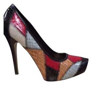Pierre Dumas Brown multicolor Platforms
