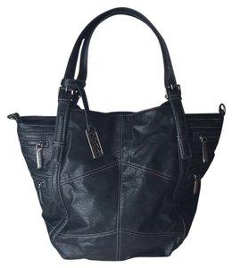 Kenneth Cole Reaction Black Beach Bag