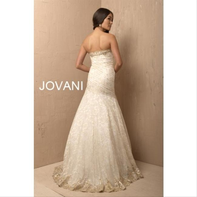 Jovani Sequins Lace Embroidered Prom Evening Event Dress