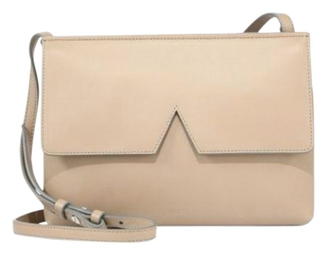 Item - Signature Collection - - Size One Size Nude Leather Cross Body Bag