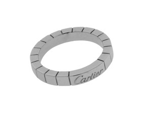 Cartier Cartier Lanieres 18k white gold band ring size 58 (US 8.25)