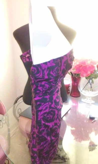 black and purple Maxi Dress by Forever 21