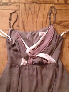 Candie's Top Brown & Pink