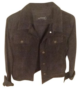 Gap Denim Style Traditional Charcoal gray Womens Jean Jacket