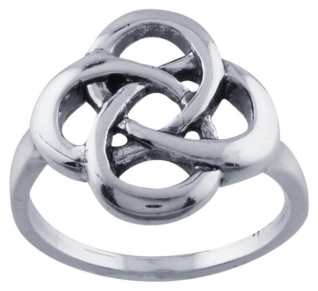 Silver Sterling Celtic Knot Ring Silver Sterling Celtic Knot Ring Image 1