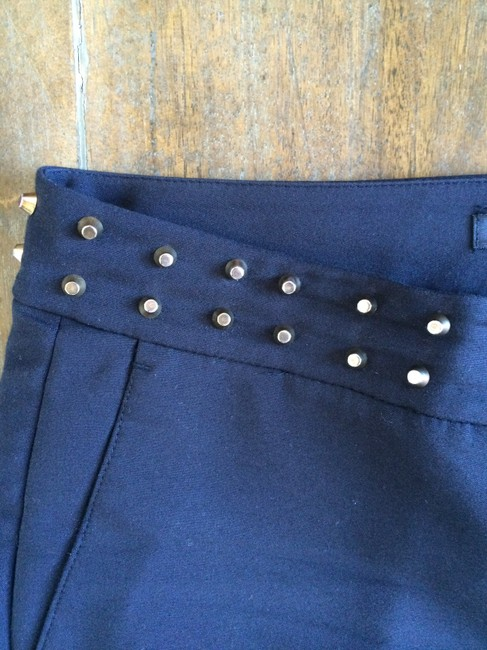 Zara Studded Capris Black
