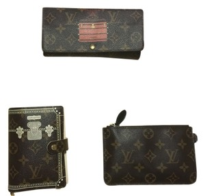 Louis Vuitton Monogram Trunks and Bags Sarah Wallet