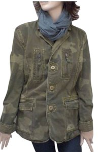 Triple Five Soul Women's Military Reversible Coat Military Jacket
