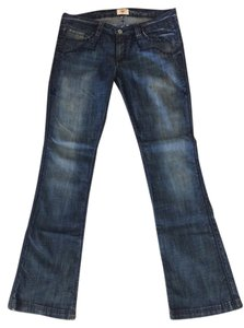 Antik Denim Flare Leg Jeans-Dark Rinse