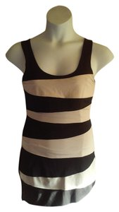 black and beige Maxi Dress by Forever 21