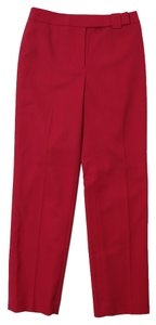 Ann Taylor LOFT Dryclean Only Straight Pants Red