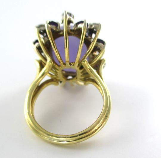 Other 14KT SOLID YELLOW GOLD RING 8 DIAMONDS 0.70 CARAT PRECIOUS STONES 12.1 GRAMS SZ7