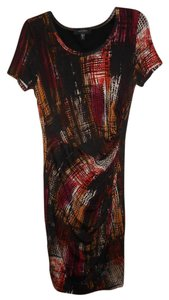 Karen Kane short dress Brown Multi Color on Tradesy