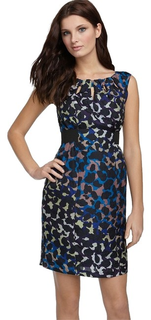 Nanette Lepore Capture Me Silk Peep Little Dress