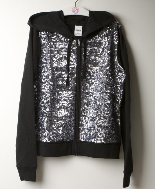 PINK Bling Fall Spring Limited Edition Sequin Sweatshirt Image 1