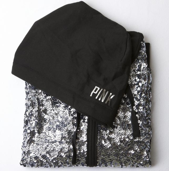 PINK Bling Fall Spring Limited Edition Sequin Sweatshirt Image 4