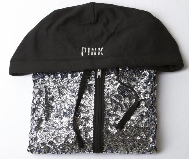 PINK Bling Fall Spring Limited Edition Sequin Sweatshirt Image 7