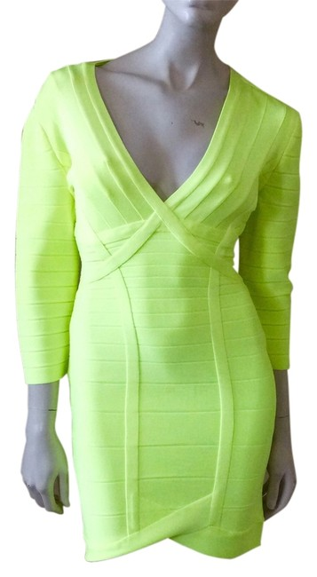 Preload https://img-static.tradesy.com/item/14145868/herve-leger-neon-yellow-nathalia-above-knee-night-out-dress-size-8-m-0-1-650-650.jpg