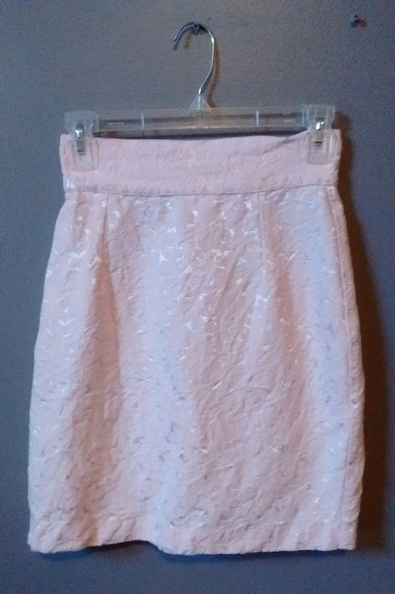 Fire Lace A-line Skirt Pink