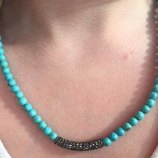 Turquoise and Diamond Necklace KSP