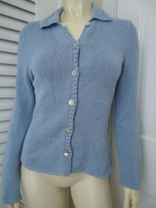 Boden 6 Us Cotton Blend Collared Warm Chic Sweater