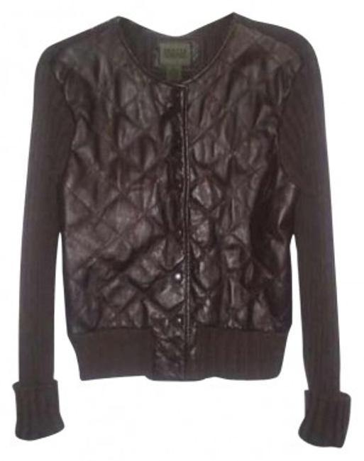 Preload https://item3.tradesy.com/images/john-paul-richard-dark-brown-leather-sweaterpullover-size-12-l-141467-0-0.jpg?width=400&height=650