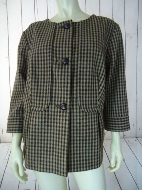 Preload https://img-static.tradesy.com/item/14146750/talbots-woman-blazer-14w-16w-brown-wool-plaid-checks-button-front-swing-retro-0-0-650-650.jpg