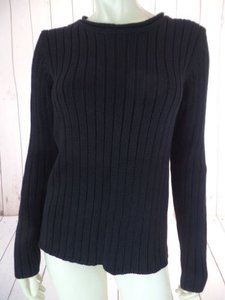 Ralph Lauren Thick Rib Knit Rolled Collar Warm Chic Sweater