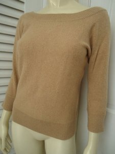 Banana Republic Soft Lambswool Rabbit Hair Blend Chic Sweater
