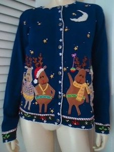 Arriviste Ugly Christmas Sweater
