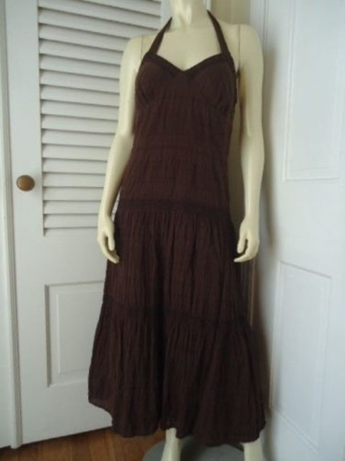 Preload https://img-static.tradesy.com/item/14146882/tommy-hilfiger-dress-ankle-full-length-peasant-hippie-halter-style-lined-0-0-650-650.jpg