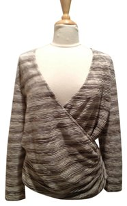 M Missoni Metallic V-neck Sweater