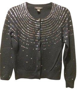 Banana Republic Holiday Sparkle Dazzle Wool Cardigan