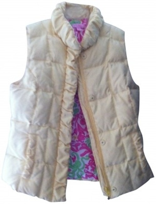 Preload https://item2.tradesy.com/images/lilly-pulitzer-yellow-vest-size-4-s-141481-0-0.jpg?width=400&height=650