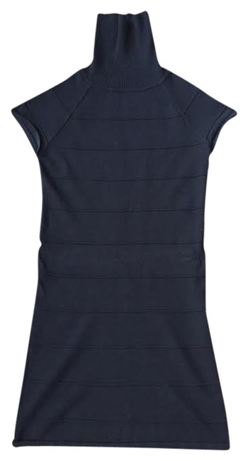 Other Turtleneck Sweater Form-fitting Bodycon Dress