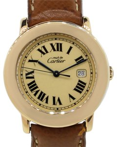 Cartier Cartier Must De Cartier 1800 Gold Plated Ladies Watch