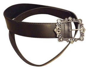 Gap Gap black belt with decorative silver buckle