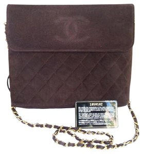 Chanel Suede Luxury Shoulder Bag