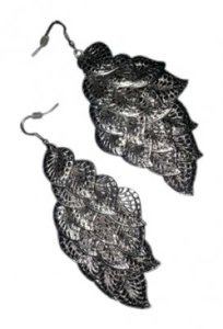 Charlotte Russe Cascading with Silver