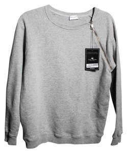 Saint Laurent Crewneck Mens Zip Sweatshirt