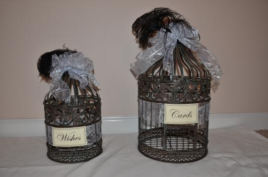 Gatsby Style Card Bird Cages