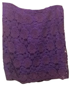 Ark & Co. Skirt Purple