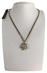Chanel Chanel Crystal Flower Necklace